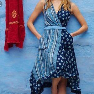 Anthropologie Maeve maxi dress size 8